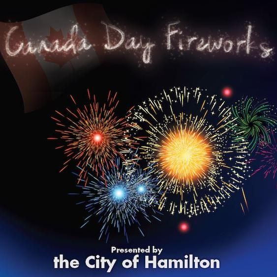 Canada Day Fireworks In Hamilton And Area