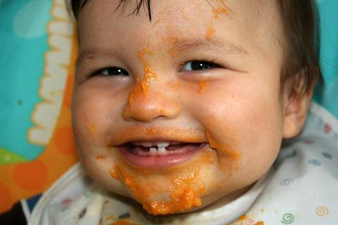 baby food, butternut squash baby food