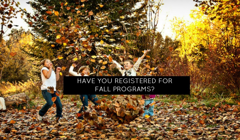4 Great Fall Programs
